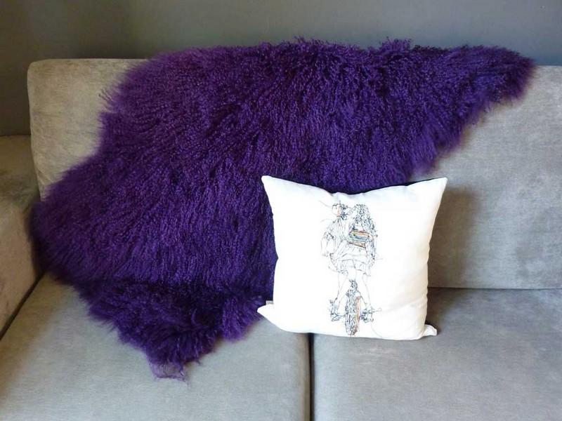 Purple Throw Rugs