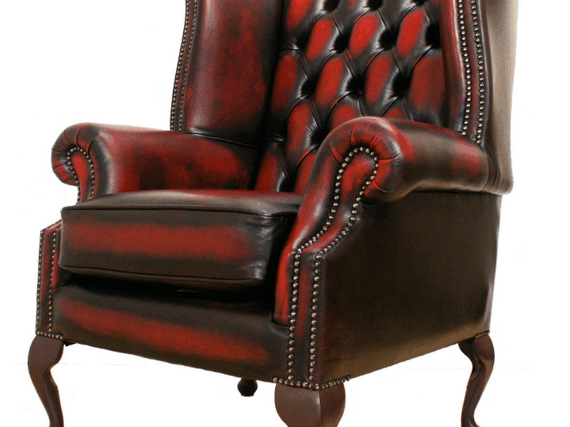 Queen Anne Chair Leather