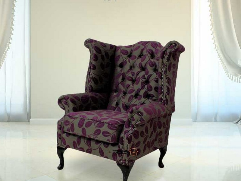Queen Anne Wing Chair Recliner