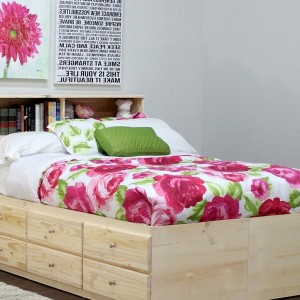 Queen Bed With Storage Drawers Plans
