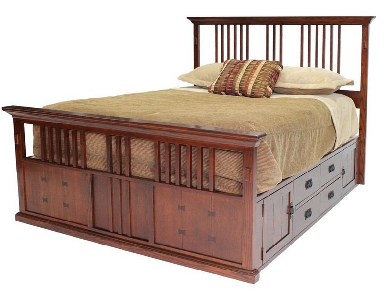 Queen Captains Bed Plans