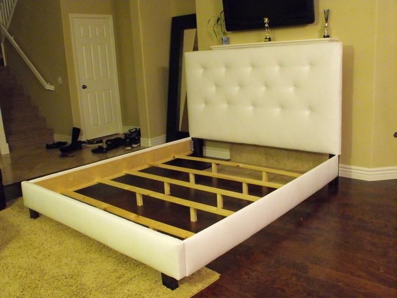 Queen Size Bed Without Headboard