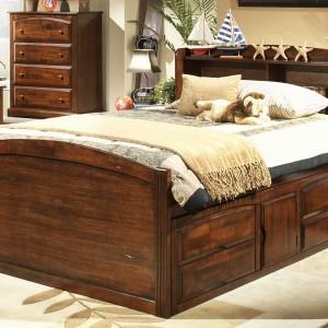 Queen Size Captains Storage Bed