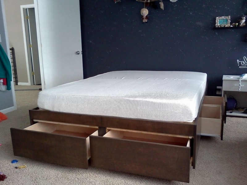 Queen Size Platform Beds Under 200