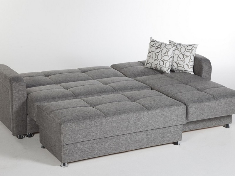 Queen Sleeper Sectional Chaise