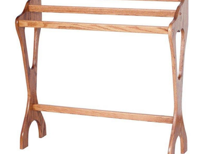 Quilt Rack Wood
