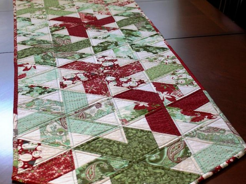 Quilted Holiday Table Runners