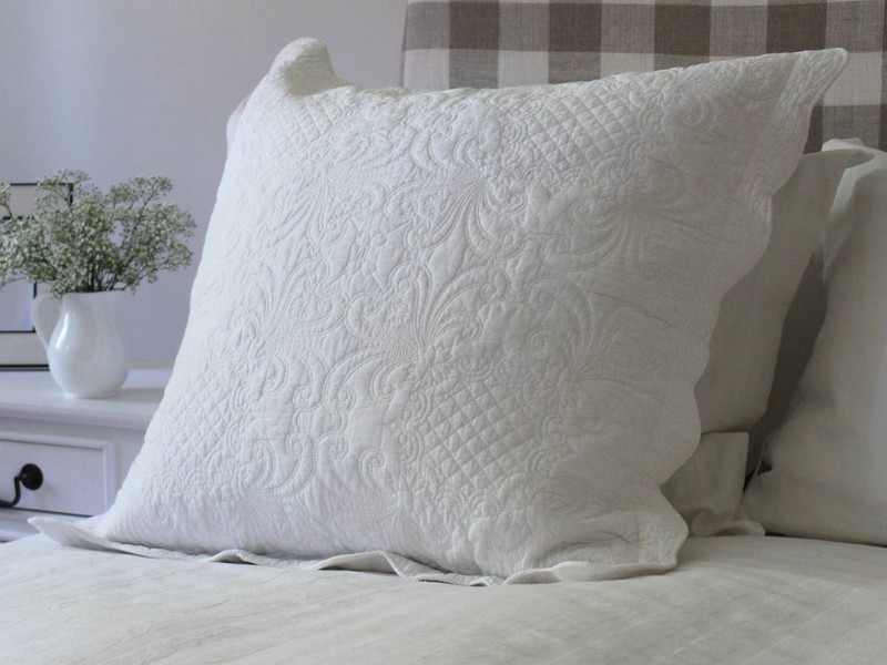 Quilted Pillow Case Covers