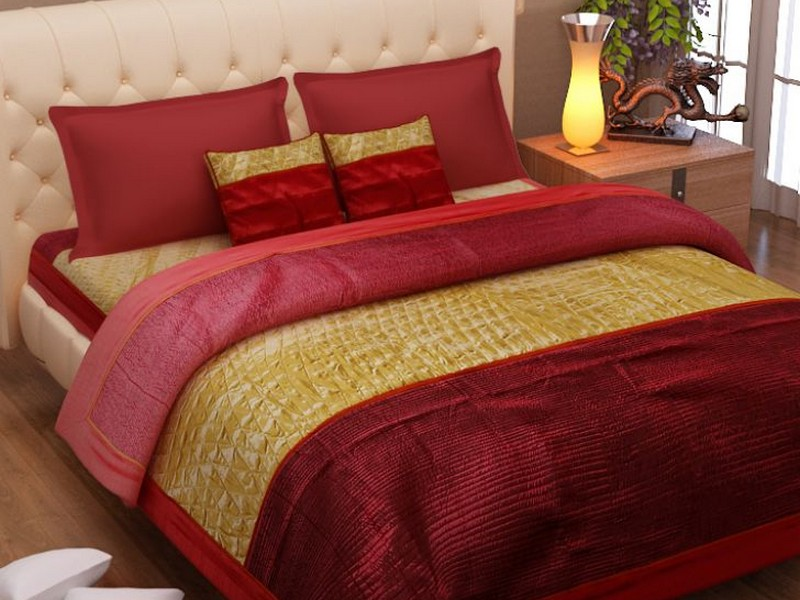 Quilted Pillow Covers King Size