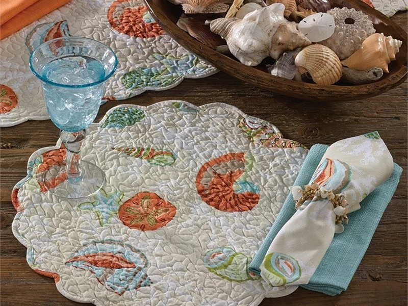 Quilted Placemats For Round Tables