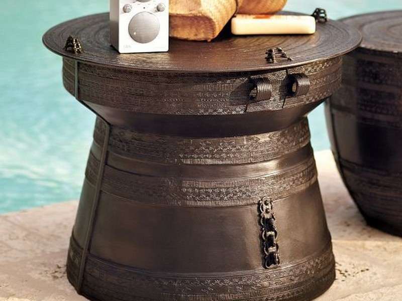 Rain Drum Table