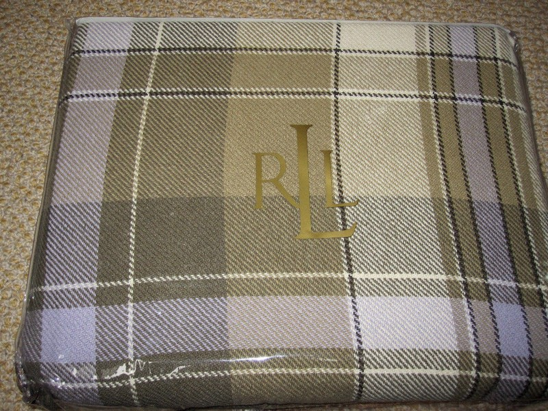 Ralph Lauren Cotton Blanket Queen