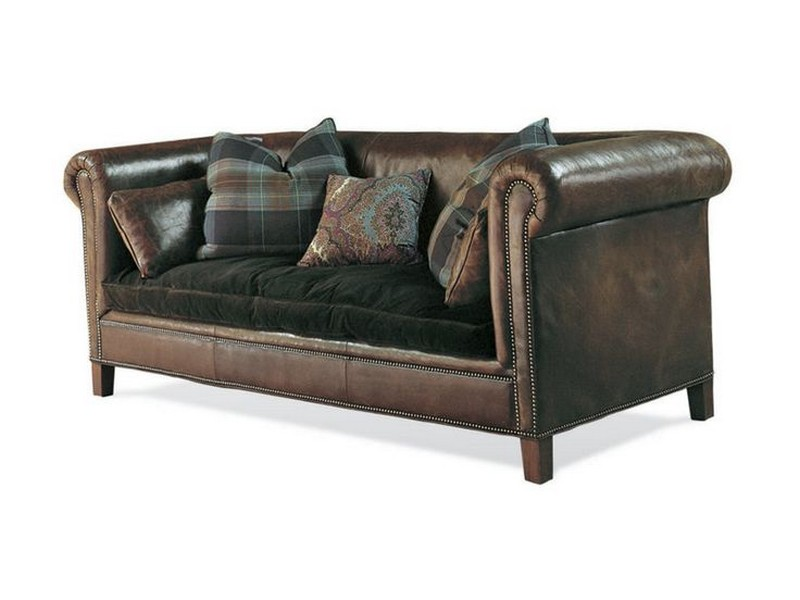 Ralph Lauren Leather Sofa