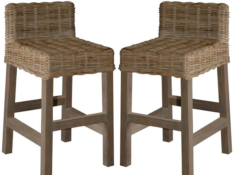 Rattan Counter Stools
