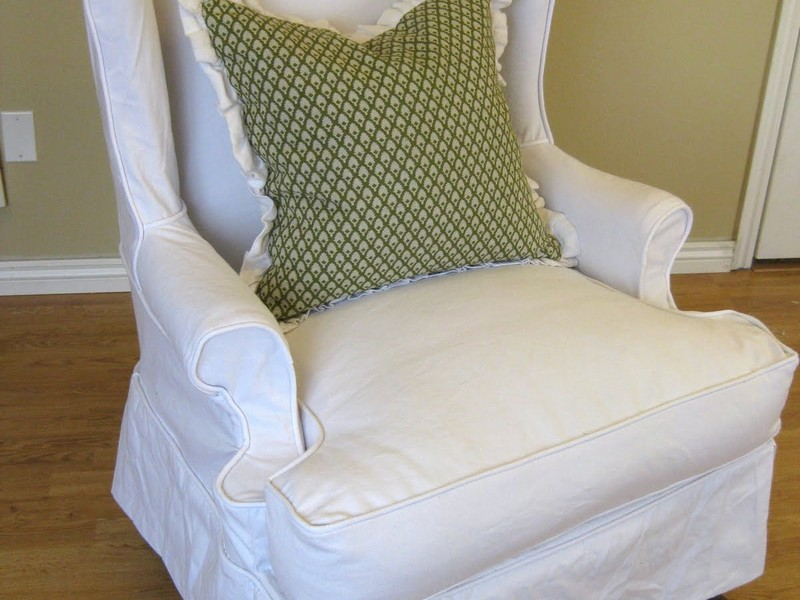 Ready Made Slipcovers For Wingback Chairs