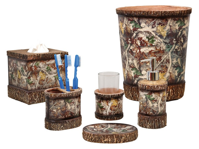 Realtree Camo Bathroom Decor