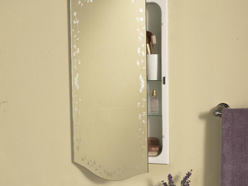 Recessed Bathroom Cabinet No Mirror