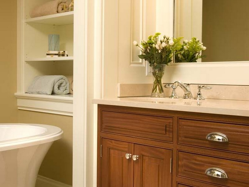 Recessed Wall Shelves