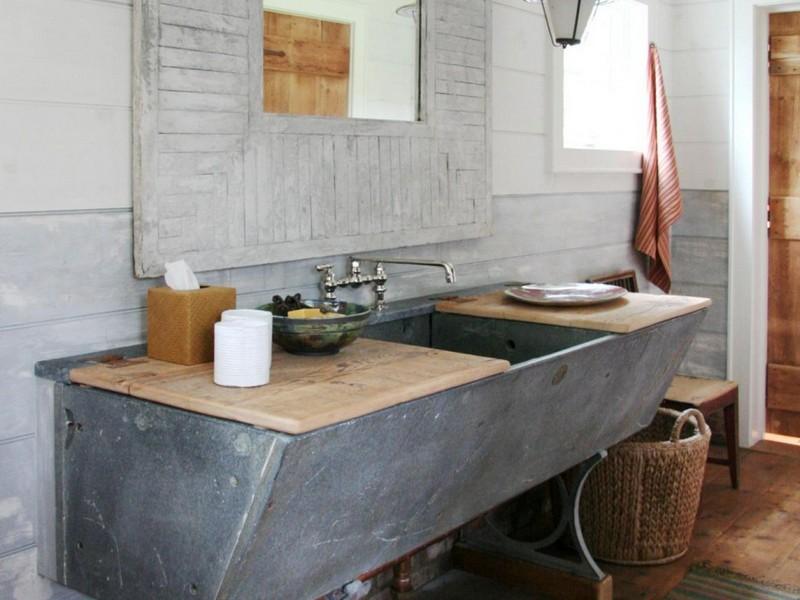 Reclaimed Bathroom Vanity Unit