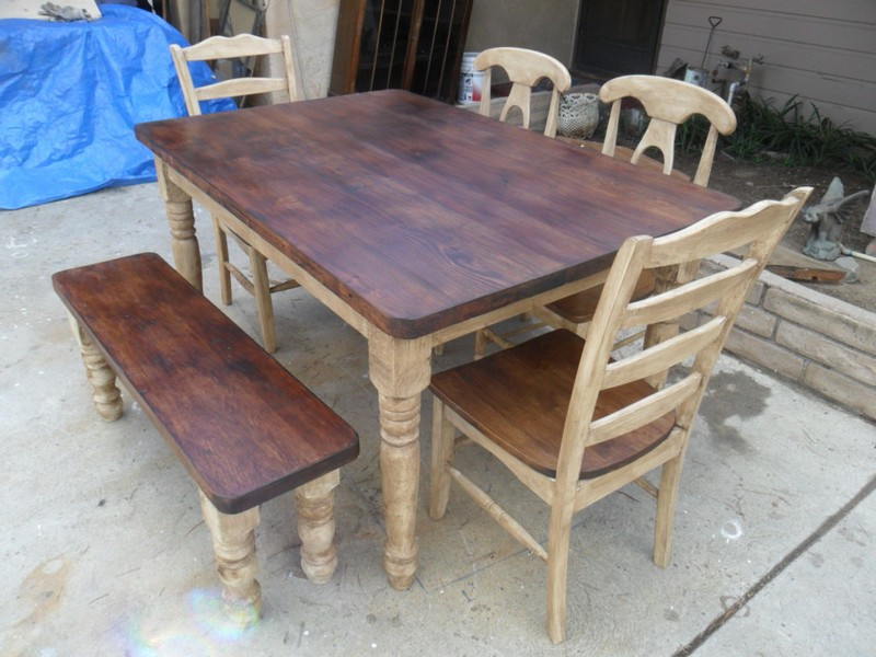 Reclaimed Dining Room Tables