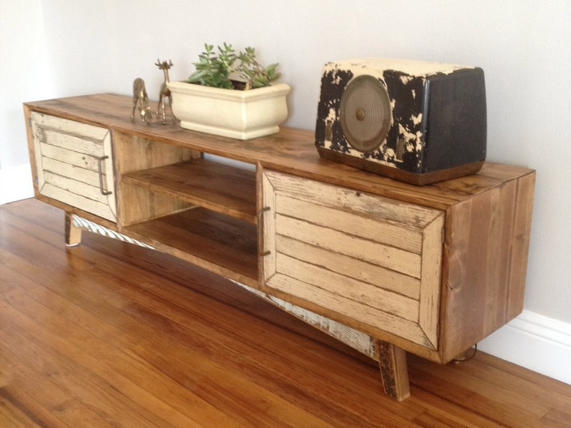 Reclaimed Wood Credenza