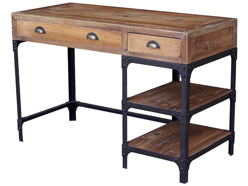 Reclaimed Wood Office Desks