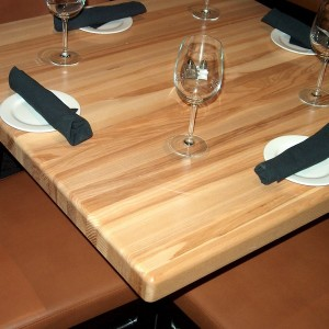 Reclaimed Wood Restaurant Table Tops