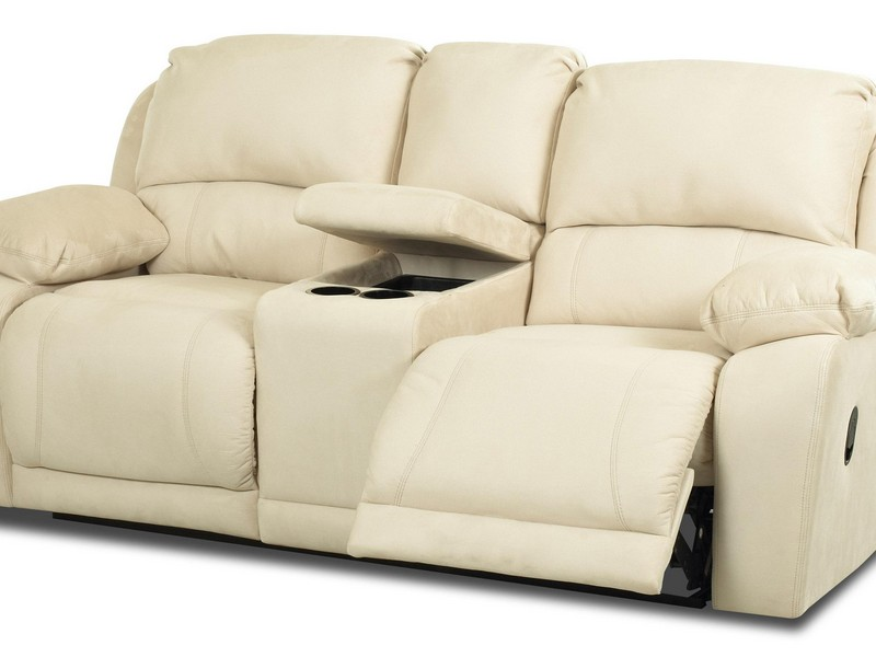 Recliner Loveseat With Console