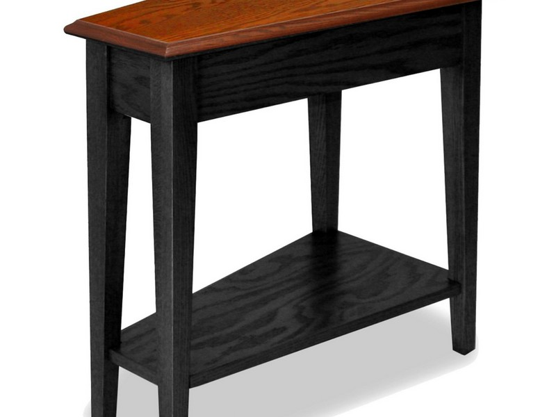 Recliner Wedge End Table