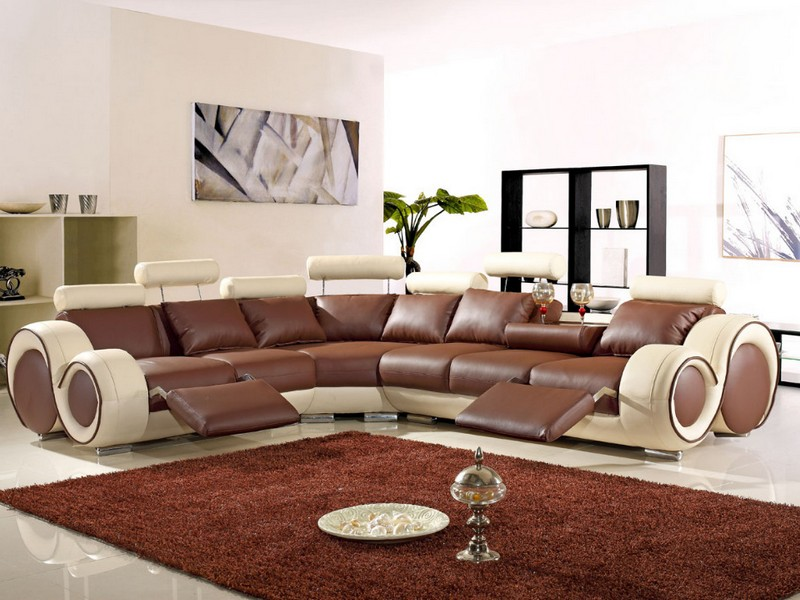 Reclining Loveseat W Console