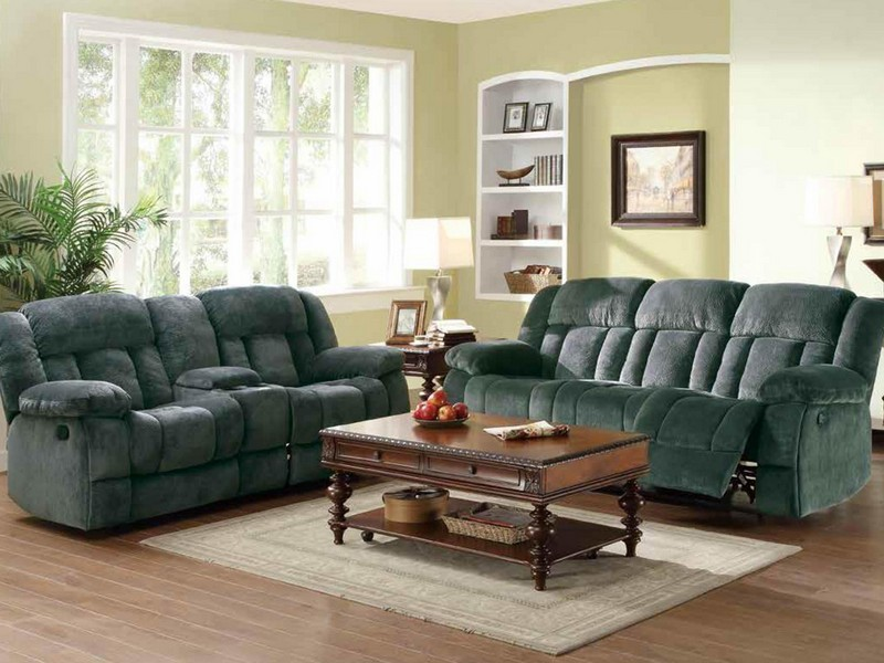 Reclining Loveseat With Console Slipcover