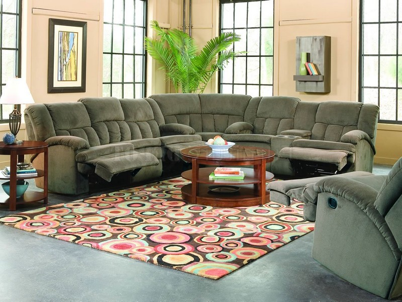 Reclining Loveseat With Fold Down Console