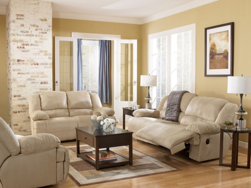Reclining Sofa And Loveseat Microfiber