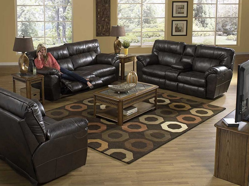 Reclining Sofa Sets Leather