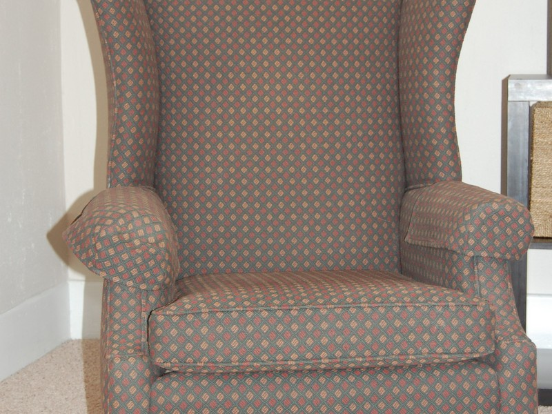 Reclining Wing Chair Slipcover