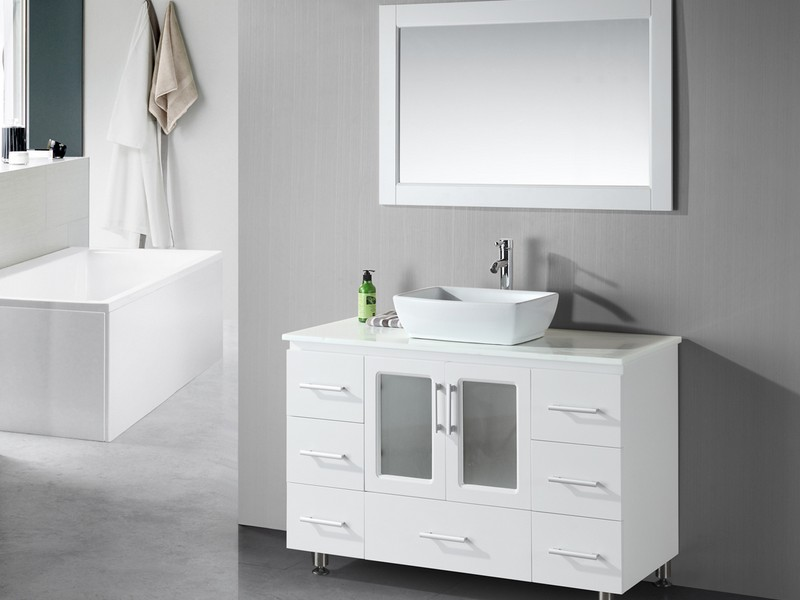Rectangular Bathroom Vessel Sinks