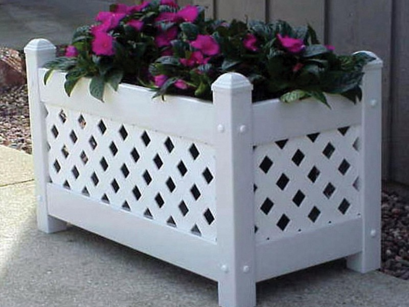 Rectangular Outdoor Planters