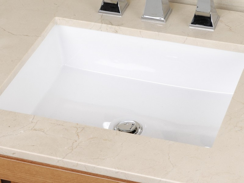 Rectangular Undermount Bathroom Sink Canada