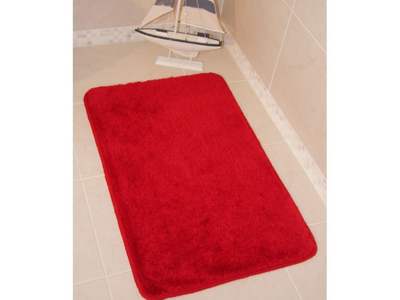 Red Bathroom Rugs And Mats