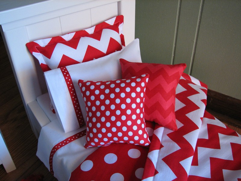 Red Chevron Bedding Sets