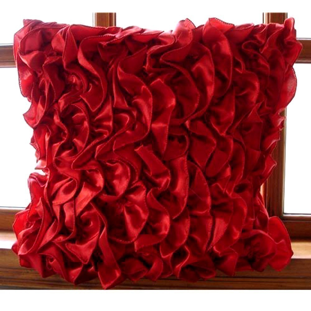 Red Couch Throw Pillows