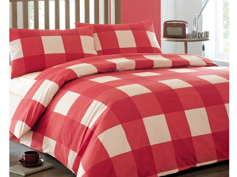 Red Patterned Duvet Covers