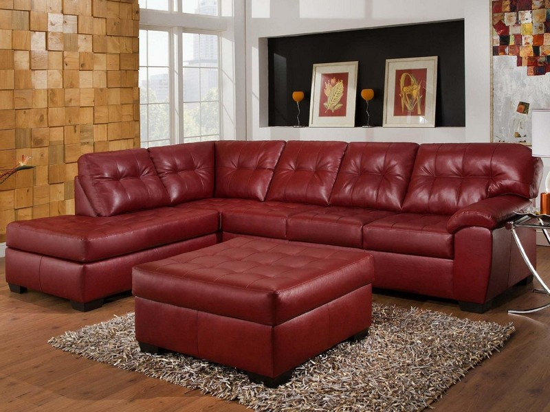 Red Sectional Couches