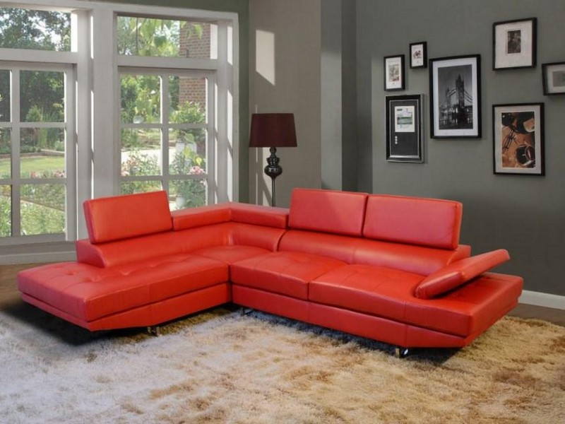 Red Sectional Sofas Cheap