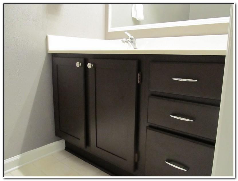 Refinish Bathroom Cabinets Diy