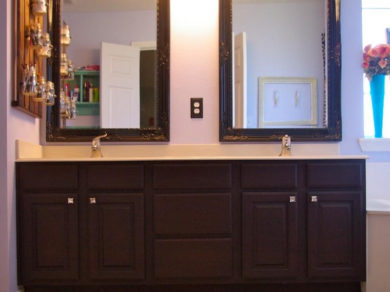 Refinish Bathroom Cabinets Ideas