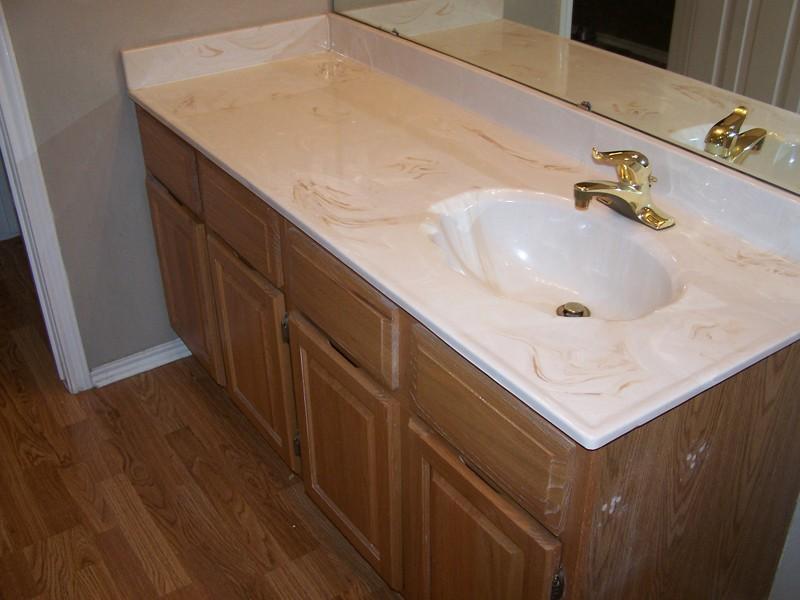 Refinish Bathroom Vanity Top