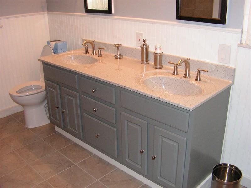 Refinish Old Bathroom Vanity