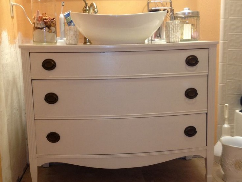 Refinishing Bathroom Cabinets Diy