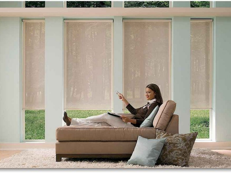 Remote Window Blinds